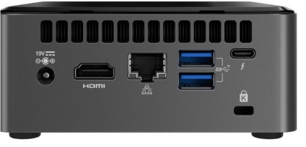 intel nuc 10th frost canyon achterkant